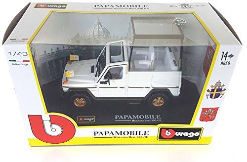 Modellino PAPAMOBILE Star 660 10cm Scala 1//72 Papa Vaticano Automobile