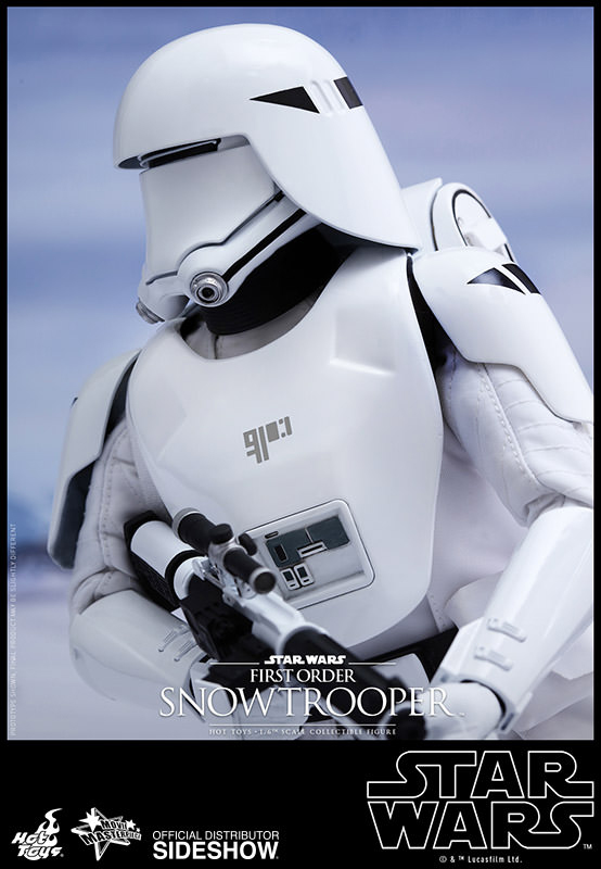 Star Wars VII The Force Awakens First Order Snowtrooper Snowtrooper Snowtrooper 1/6 Scale Action Figure 9f657c