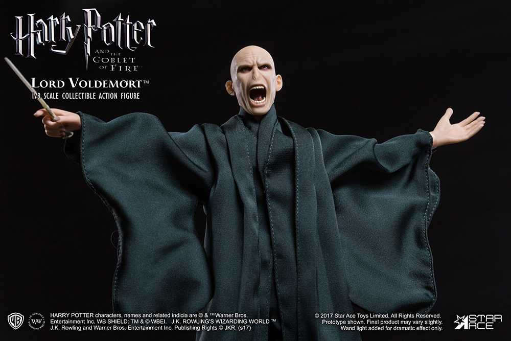Harry Potter Lord Voldemort Flash Effect Real Master Master Master 1/8 Scale Action Figure 46f4e2