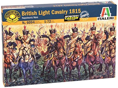 British Light Cavalry 1815 ITALERI 6094 1//72 Cavalerie Légère Anglaise