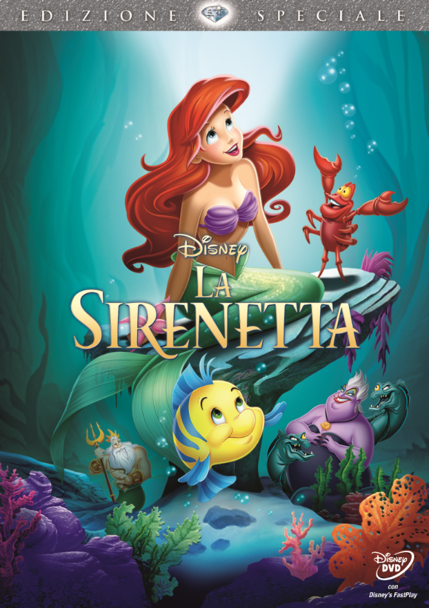 La sirenetta diamond edition dvd walt disney ebay