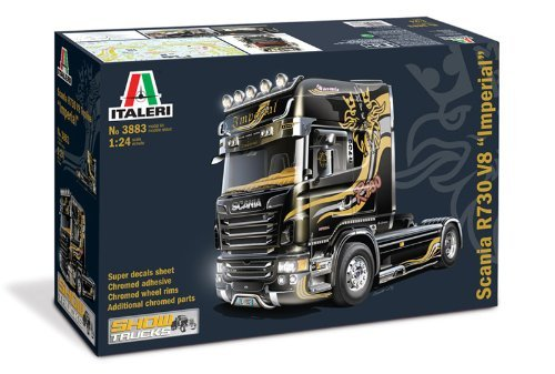 US WRECKER TRUCK KIT 1:24 CAMION ITALERI SCALA MODELS
