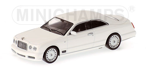 Bentley brooklands 2006 White 1:64 Model Minichamps | eBay