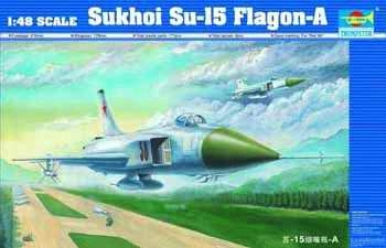 Sukhoi Su-15a Flagon A Fighter 1 48 Plastic Model Kit TRUMPETER