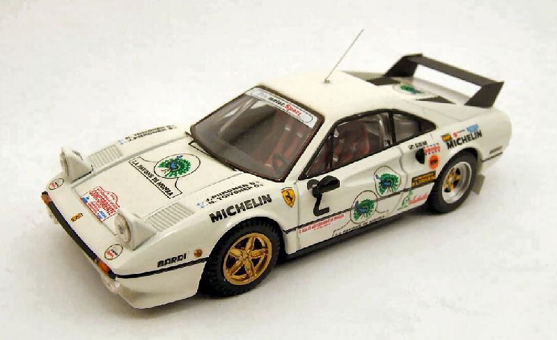 Die cast 1//43 Modellino Auto Ferrari 308 GTB Rally Monza 1983 H Toivonen