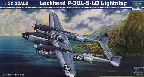 Lockheed P-38 L 5 Lo Lightning 1:32 Kit de modèles en plastique Trumpeter
