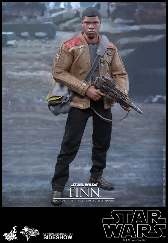 StarWars collection : Star Wars VII The Force Awakens 12' Finn 1:6 Sixth Scale Action Figure HOT TOYS
