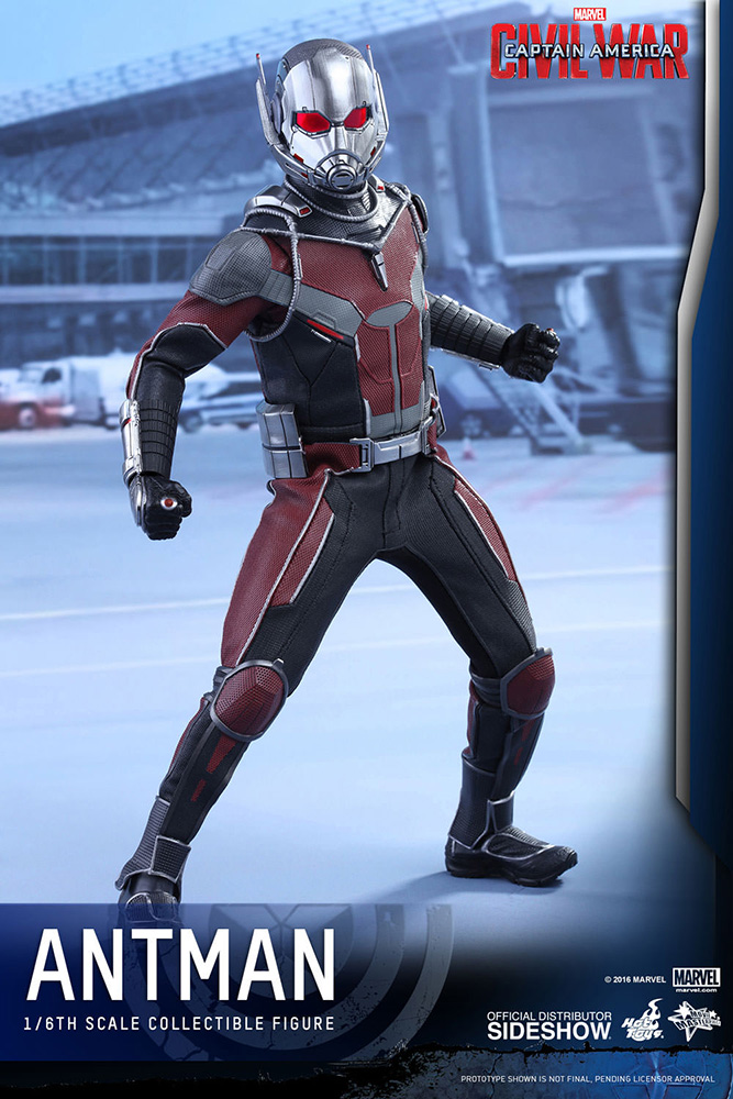 Captain America Civil War 12' Ant-Man 1/6 Scale Action Figure HOT TOYS