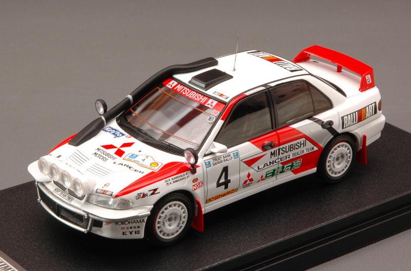 Mitsubishi Lancer  4 2nd Safari 1994 Shinozuka / Kuukkala Night Version 1:43