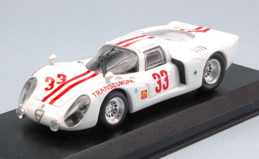 Alfa Romeo 33.2  33 Accident 12 H Interlagos 1970 M. Gernandez 1 43 Model