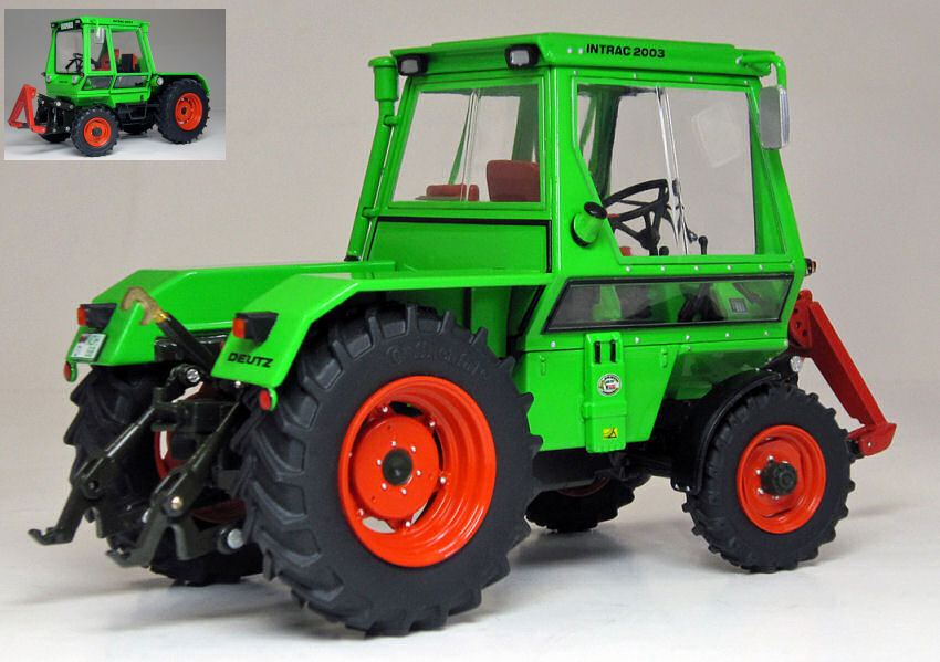 Deutz Intrac 2003 A (1974-78) Tractor Trattore 1 32 Model WEISE-TOYS