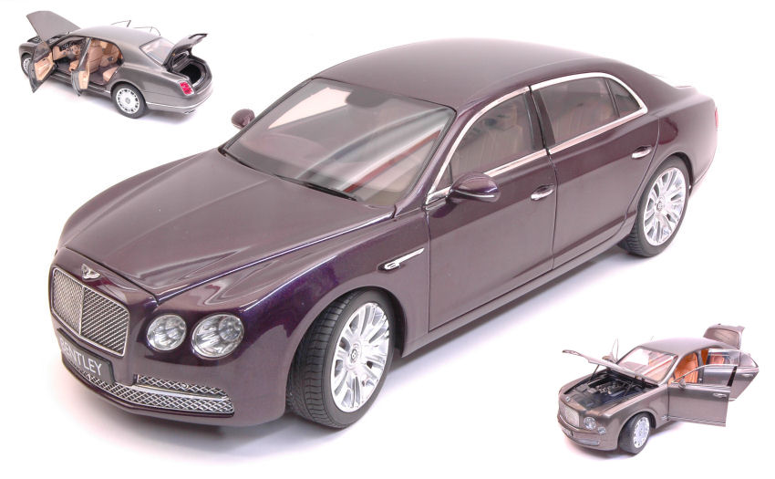 Bentley Flying Spur W12 2013 Damson viola Kyosho 1:18 Model NOREV
