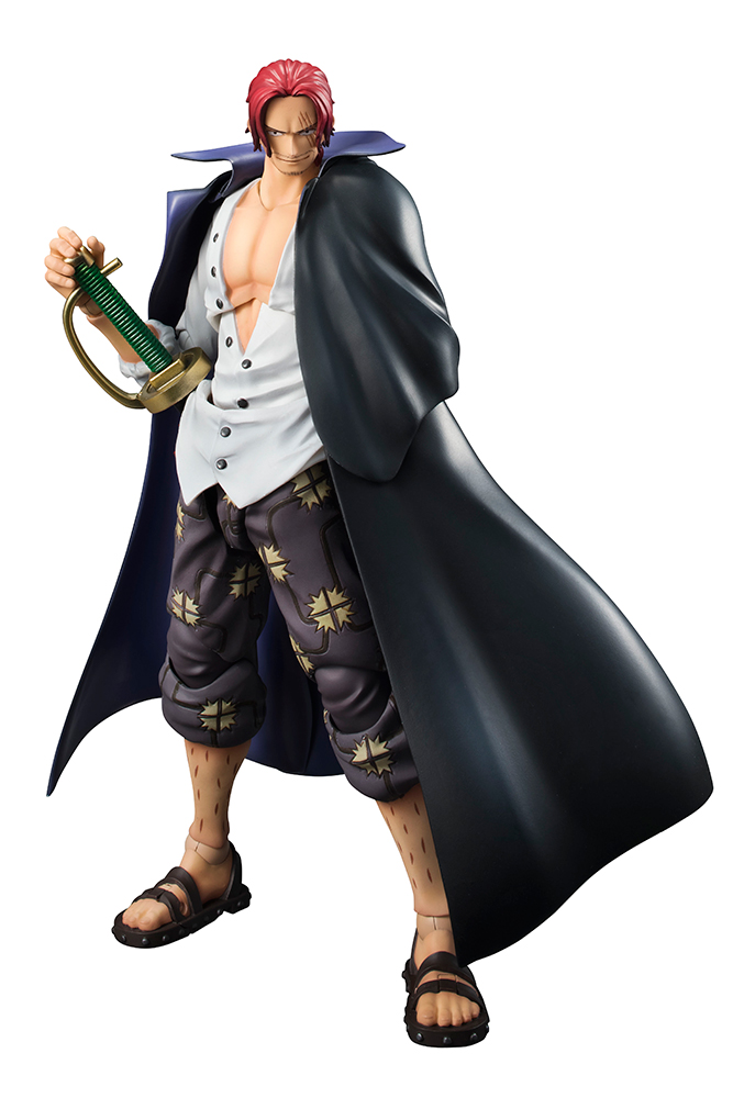 One Piece Shanks Variable Action Hero Figure MEGAHOUSE