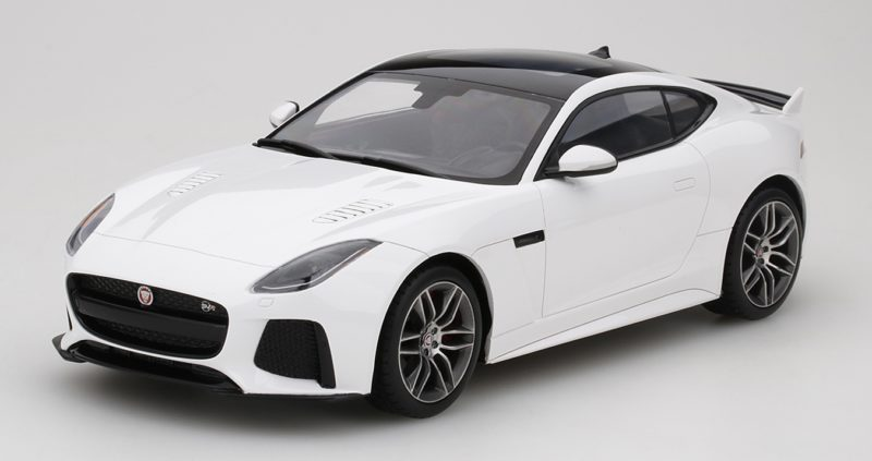compra limitada Jaguar F-type F-type F-type Svr Glacier Blanco Top Speed  Model TRUE SCALE MINIATURES  compras de moda online