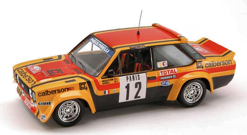 Fiat 131 Abarth  12 7th Monte Carlo 1980 M. Mouton   A. Arrii 1 43 Model TROFEU