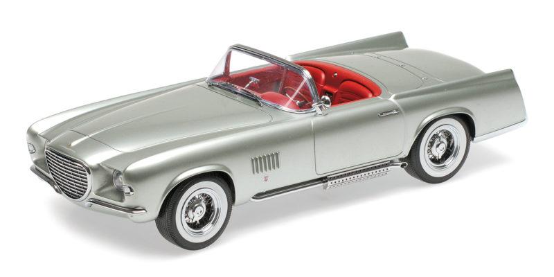 Tempêtes d'achat, le Nouvel An de Noël est le premier à être fort Chrysler Ghia Falcon 1955 Light Green Metallic 1:43 Model MINICHAMPS | Good Design
