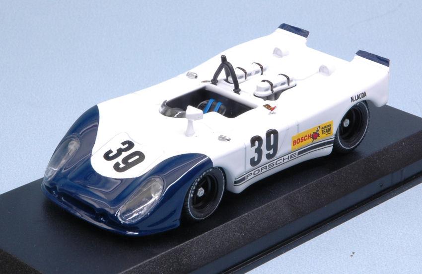 Porsche 908 02 Flunder  39 8th Interserie Norisring 1970 N. Lauda 1 43 Model