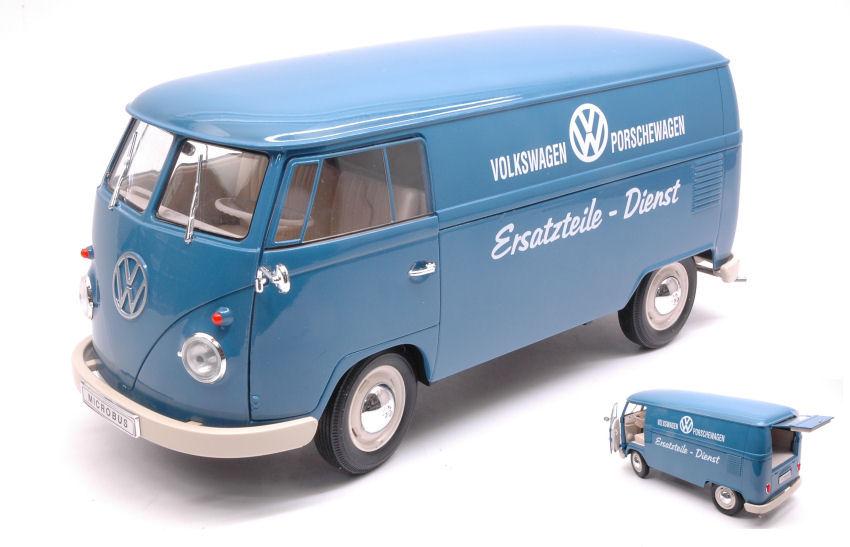VW BULLI t1 bus modello di auto auto prodotto con licenza scala 1:34-1:39