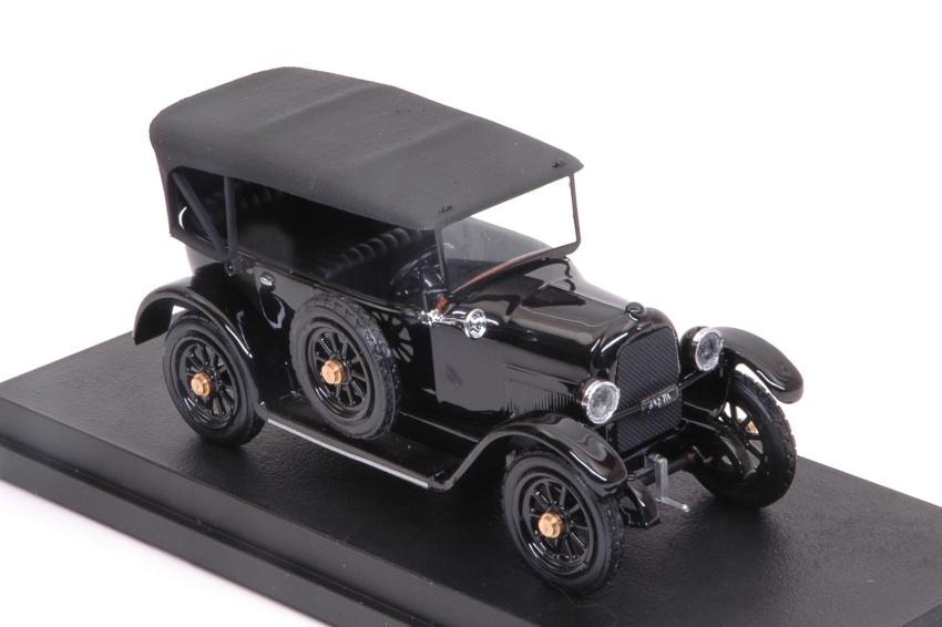 Fiat 501 'LA 'LA 'LA SAETTA DEL RE' 1919 Black 1:43 Model RIO4569 RIO | Elaborer  7e6e17