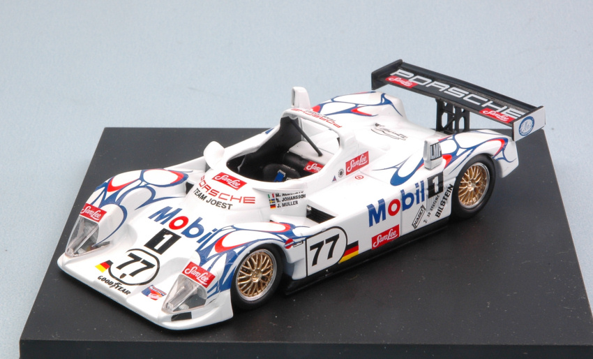 PORSCHE lmp1  77 2nd Road Atlanta Alboreto/Johansson/Muller 1:43 Model