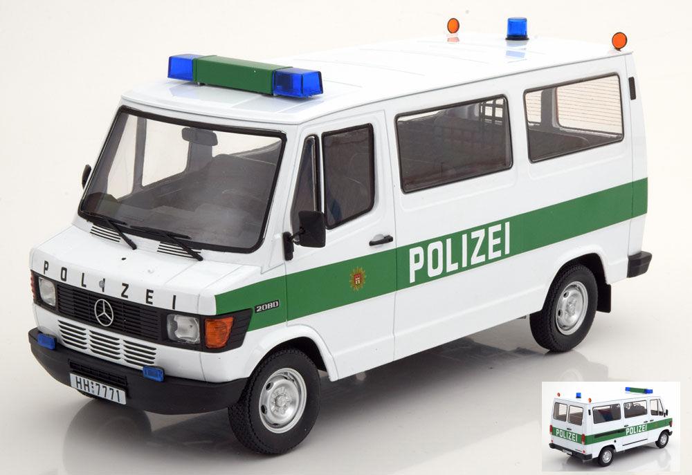 #180293 KK-Scale Mercedes 208D Bus 1988-1:18 blau