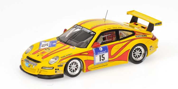 IndéPendant Porsche Gt3 997 #15 Nurburgring 2010 1:43 Model Minichamps Pour Effacer L'Ennui Et éTancher La Soif