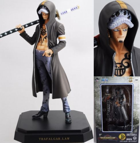 One Piece Trafalgar Law Figure Ichiban Kuji Dressrosa Prize Lot B BANPRESTO